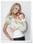 Hotslings Adjustable Pouch Baby sling - Graham Cracker